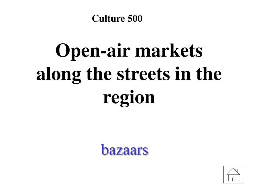 Culture 500