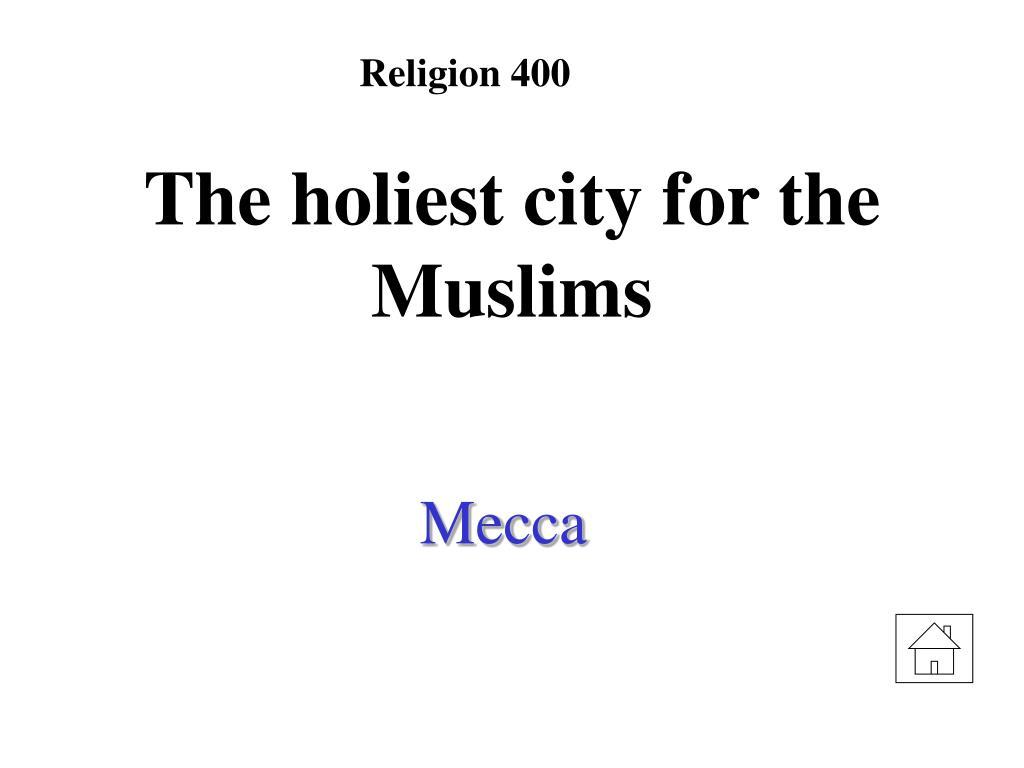Religion 400