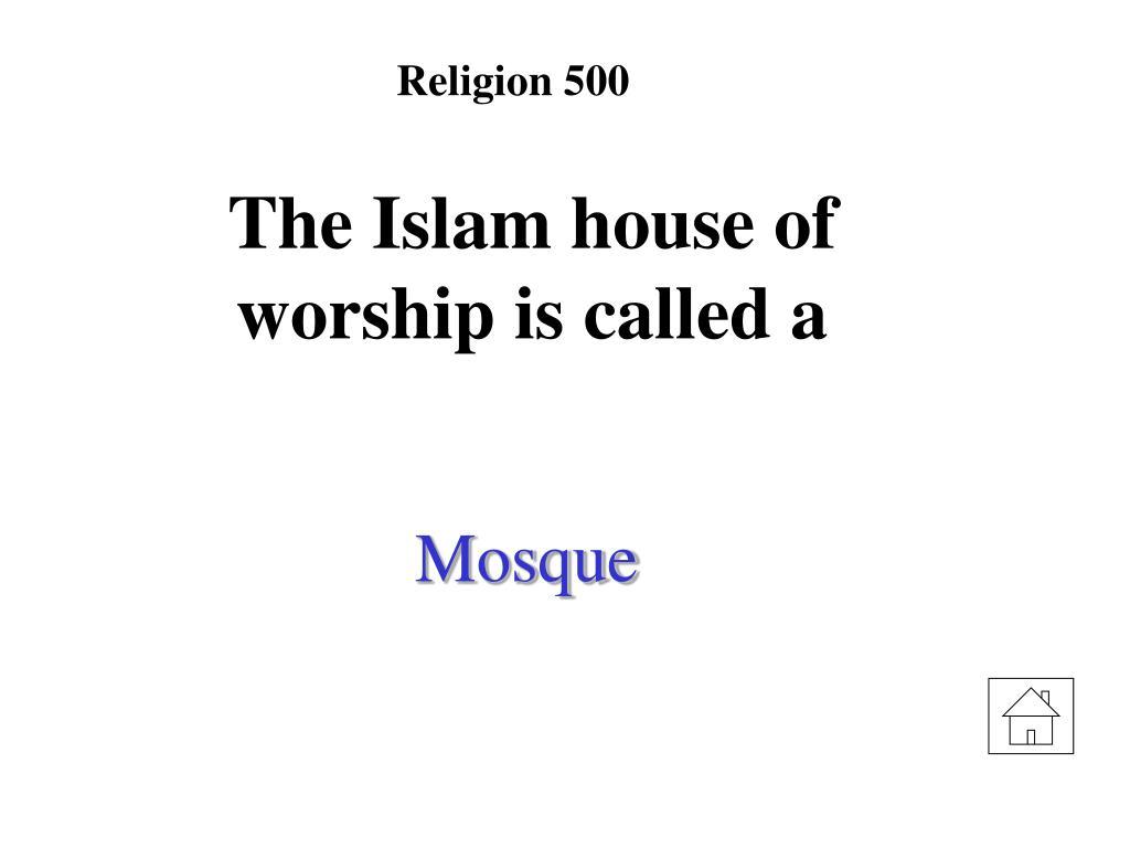 Religion 500