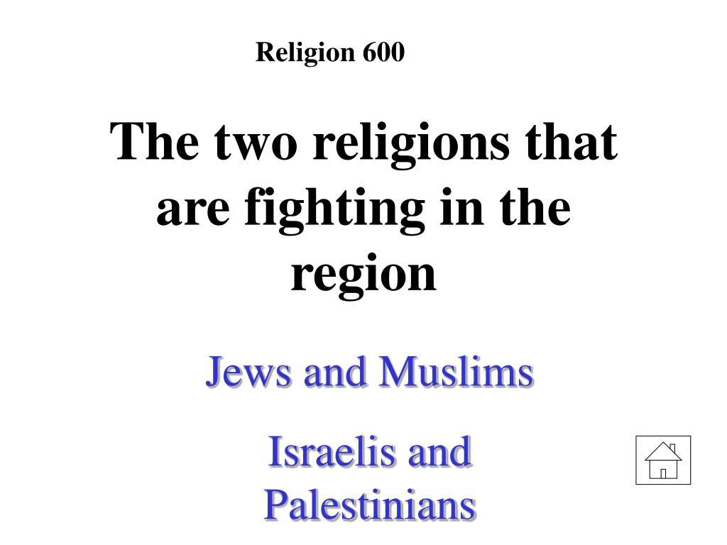 Religion 600