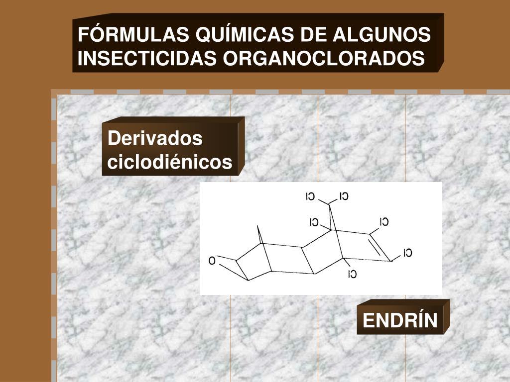 FÓRMULAS QUÍMICAS DE ALGUNOS
