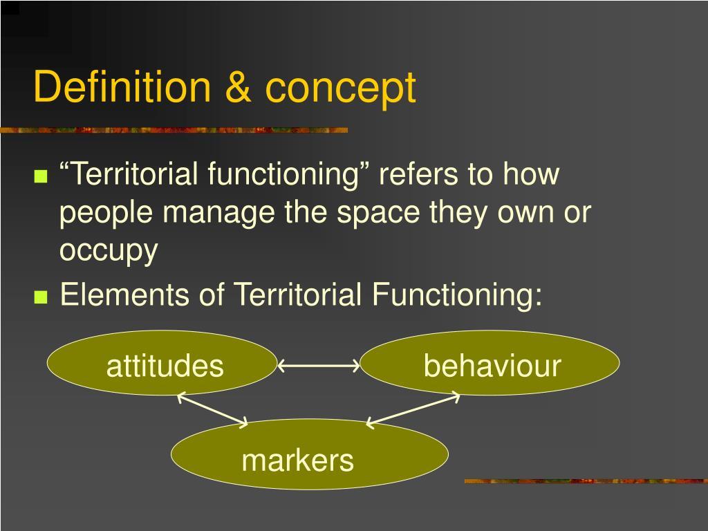 Definition & concept