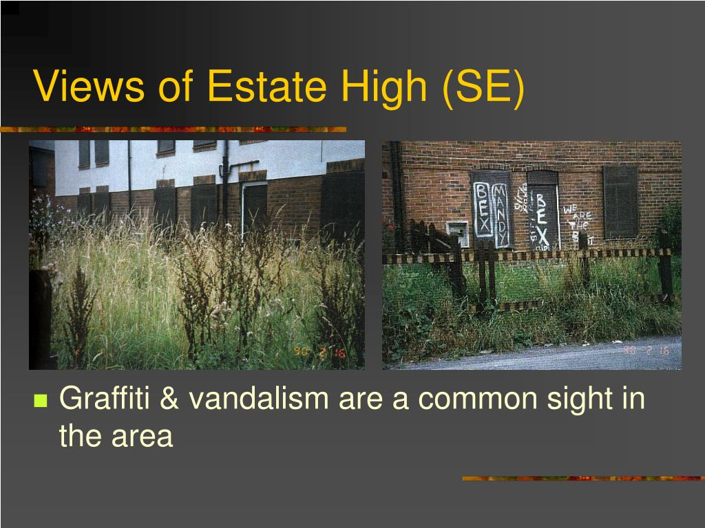 Views of Estate High (SE)