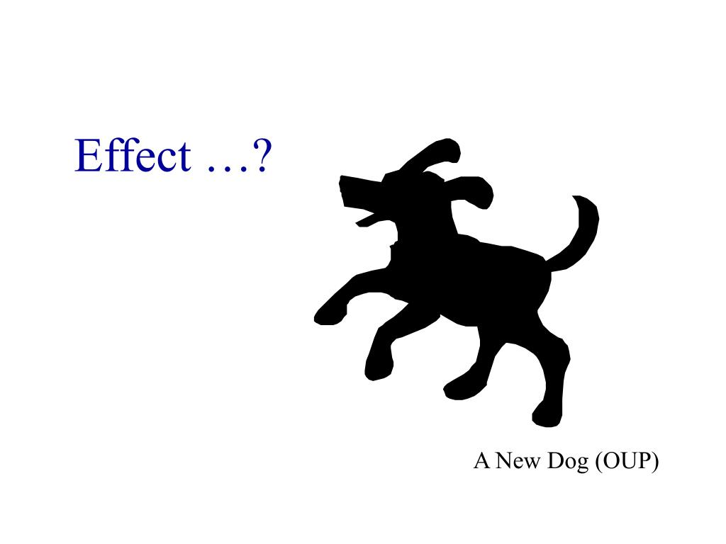 Effect …?
