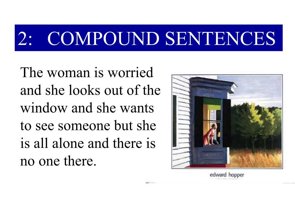 2: COMPOUND SENTENCES