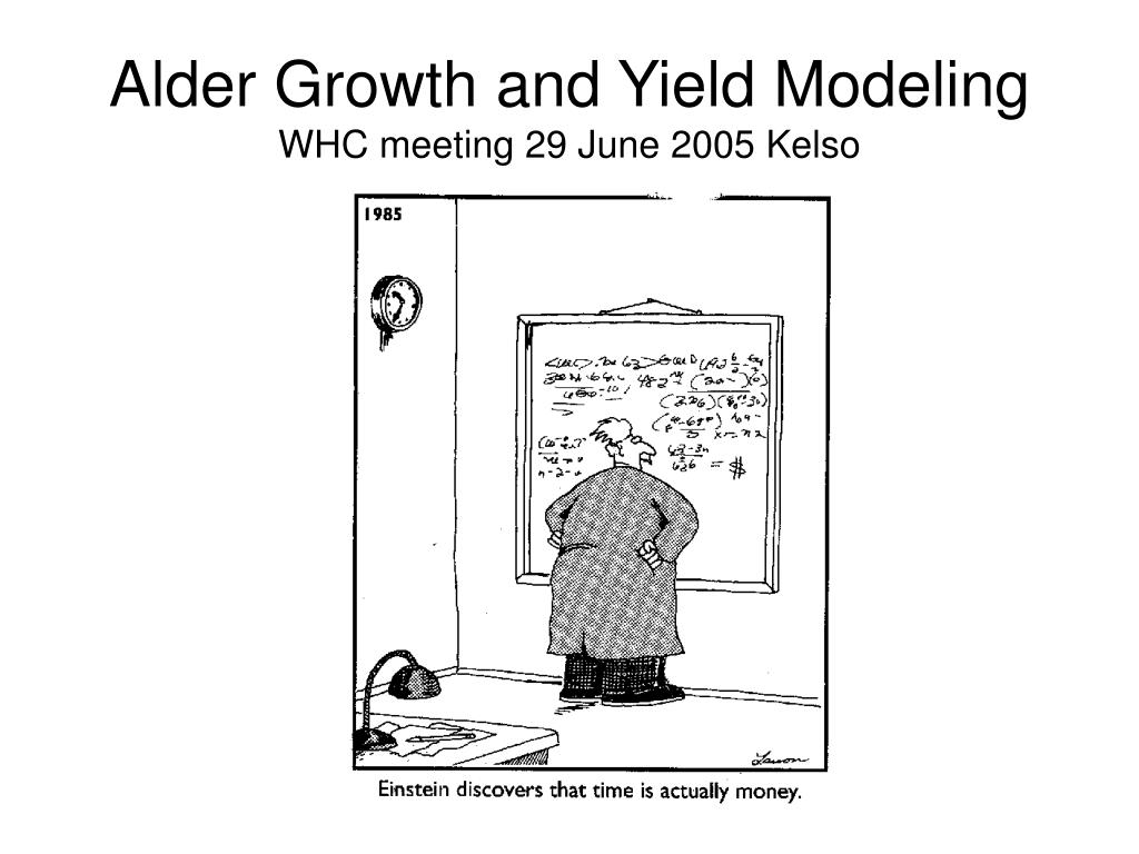 Alder Growth and Yield Modeling