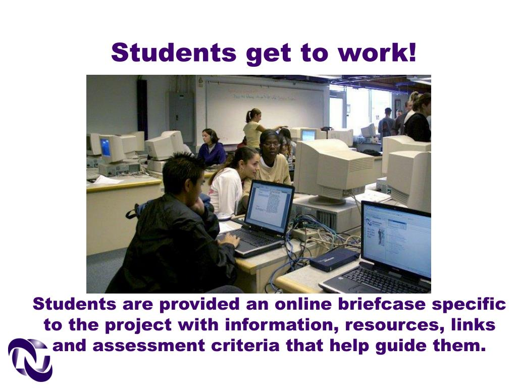Students get to work!