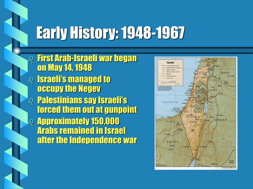 Early History: 1948-1967