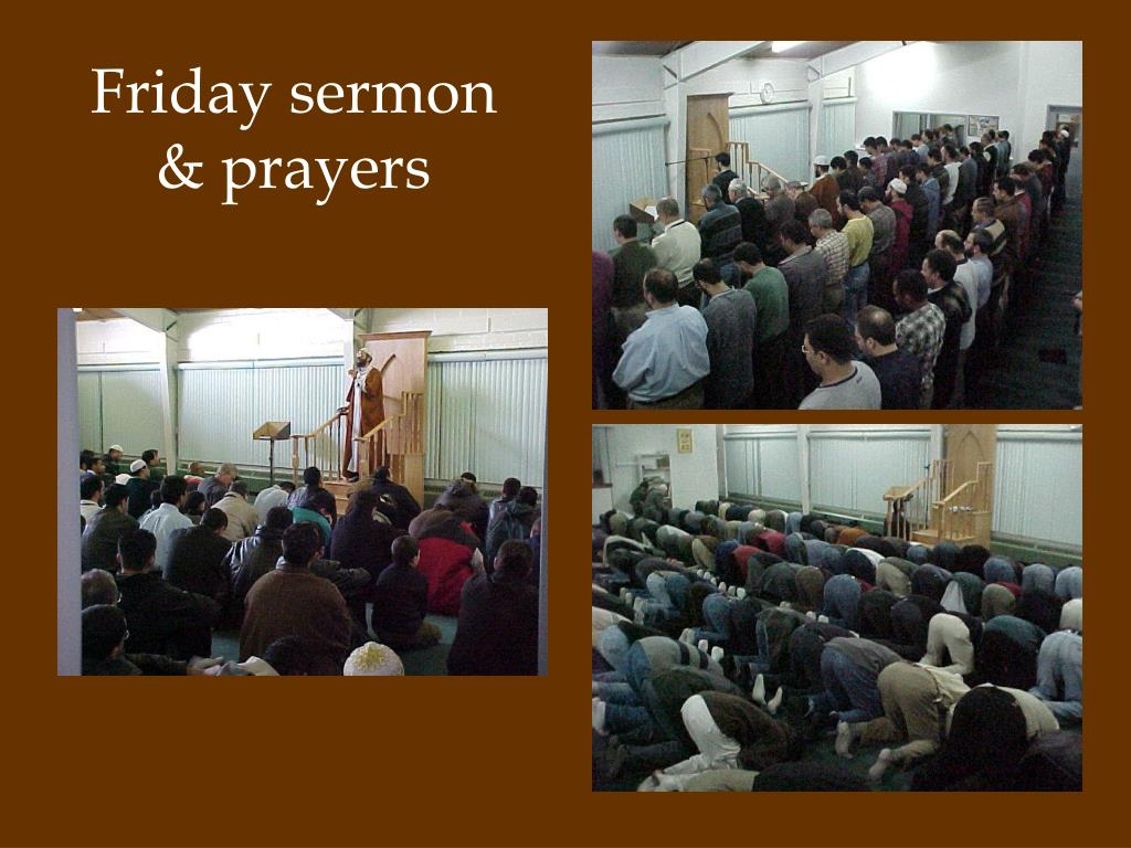 Friday sermon & prayers