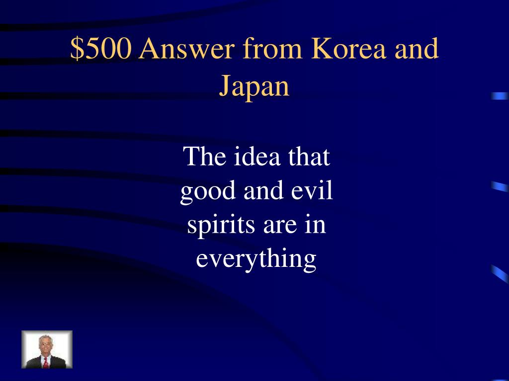 $500 Answer from Korea and Japan