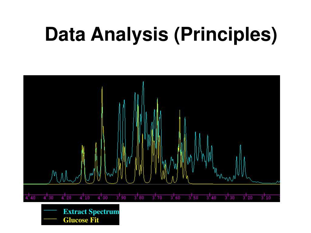 Data Analysis (Principles)