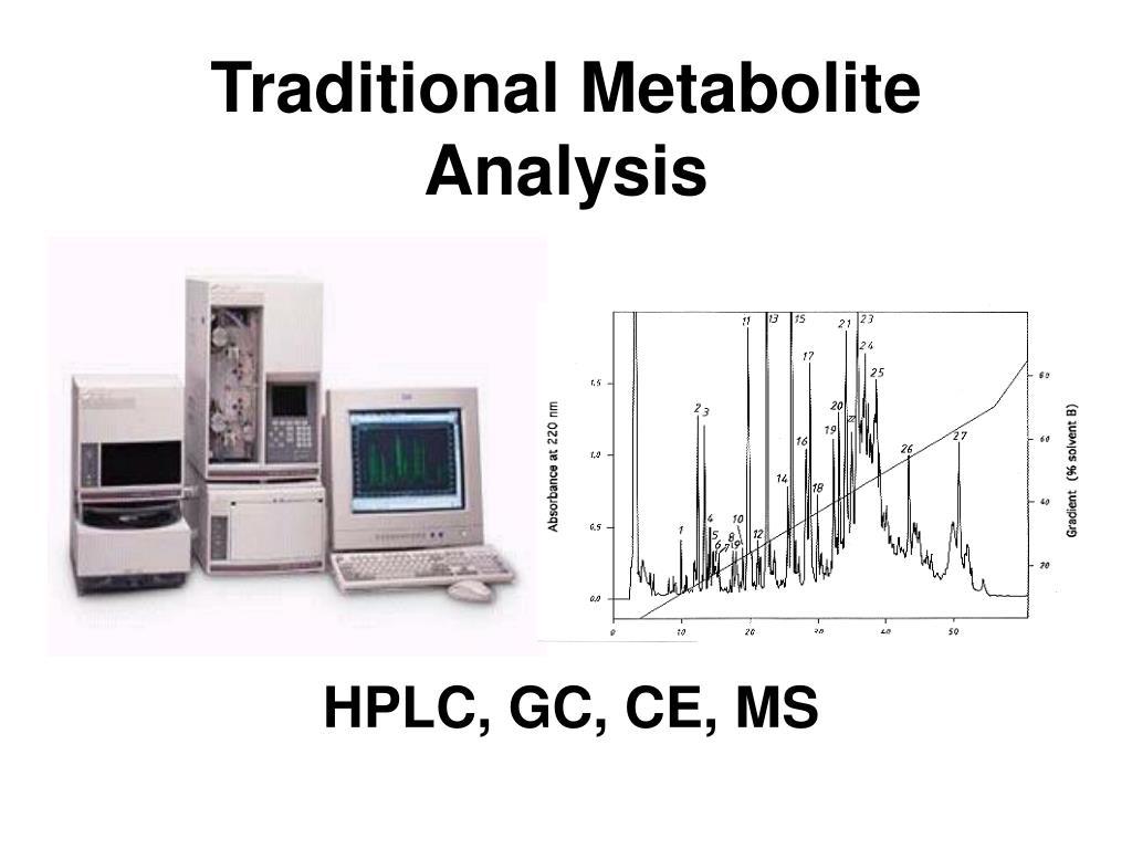 Traditional Metabolite Analysis