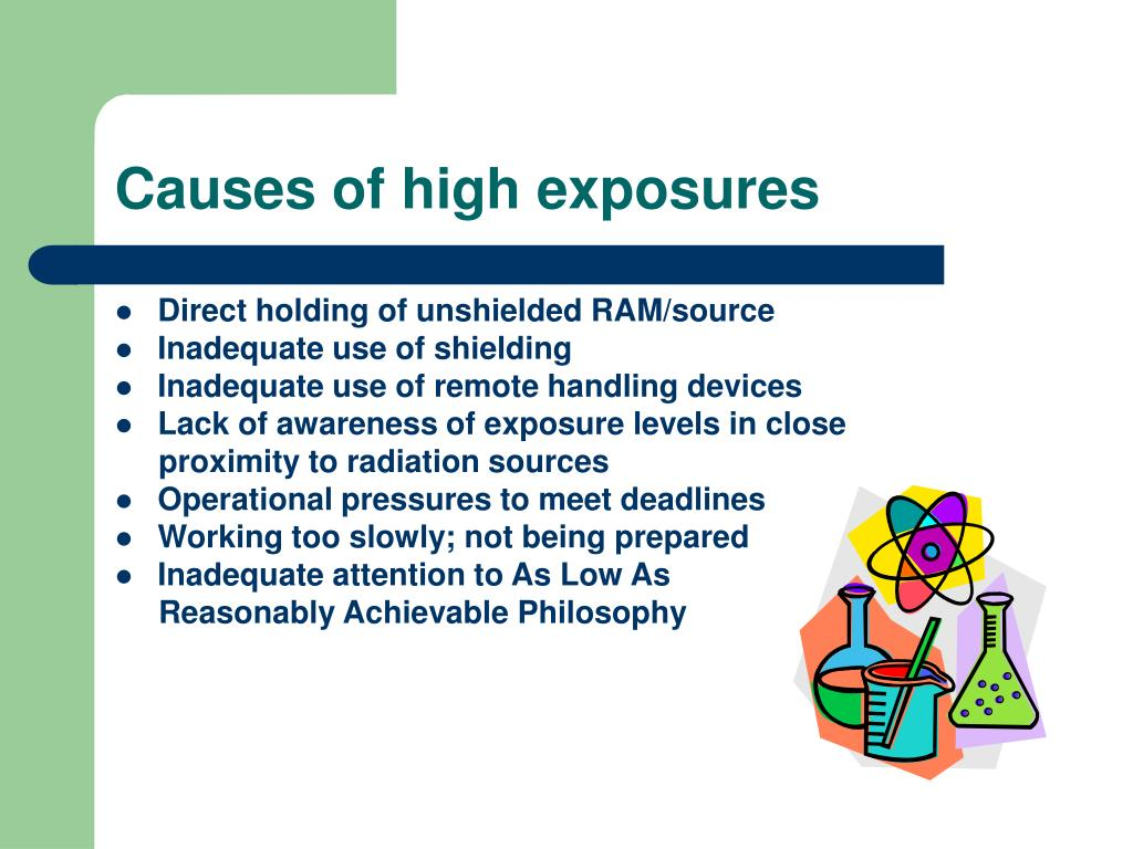 Causes of high exposures