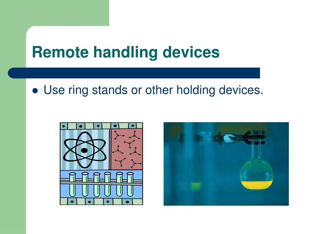 Remote handling devices