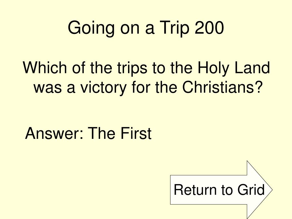 Going on a Trip 200