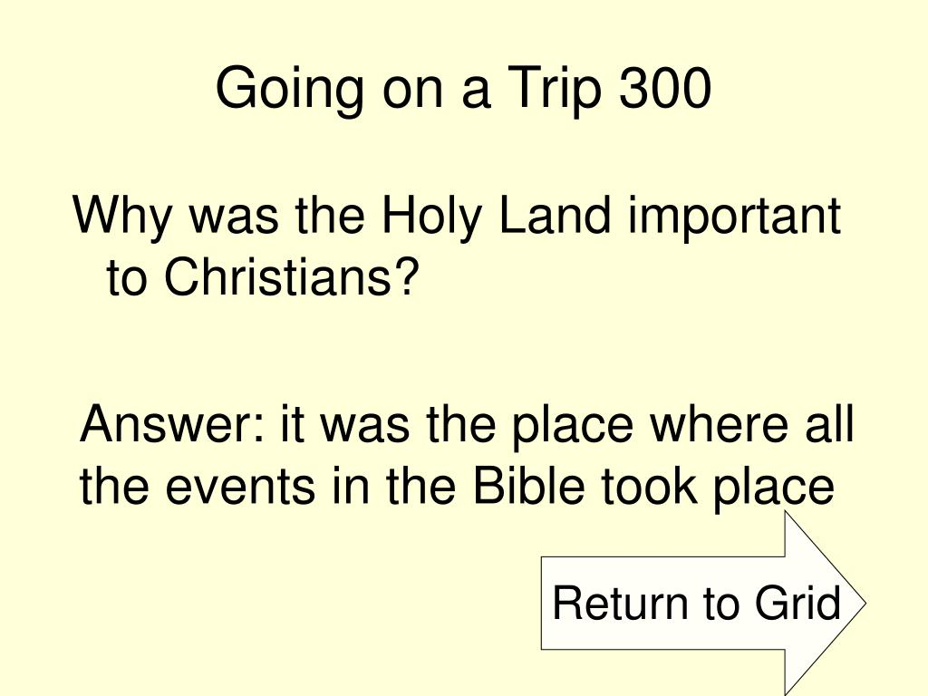 Going on a Trip 300