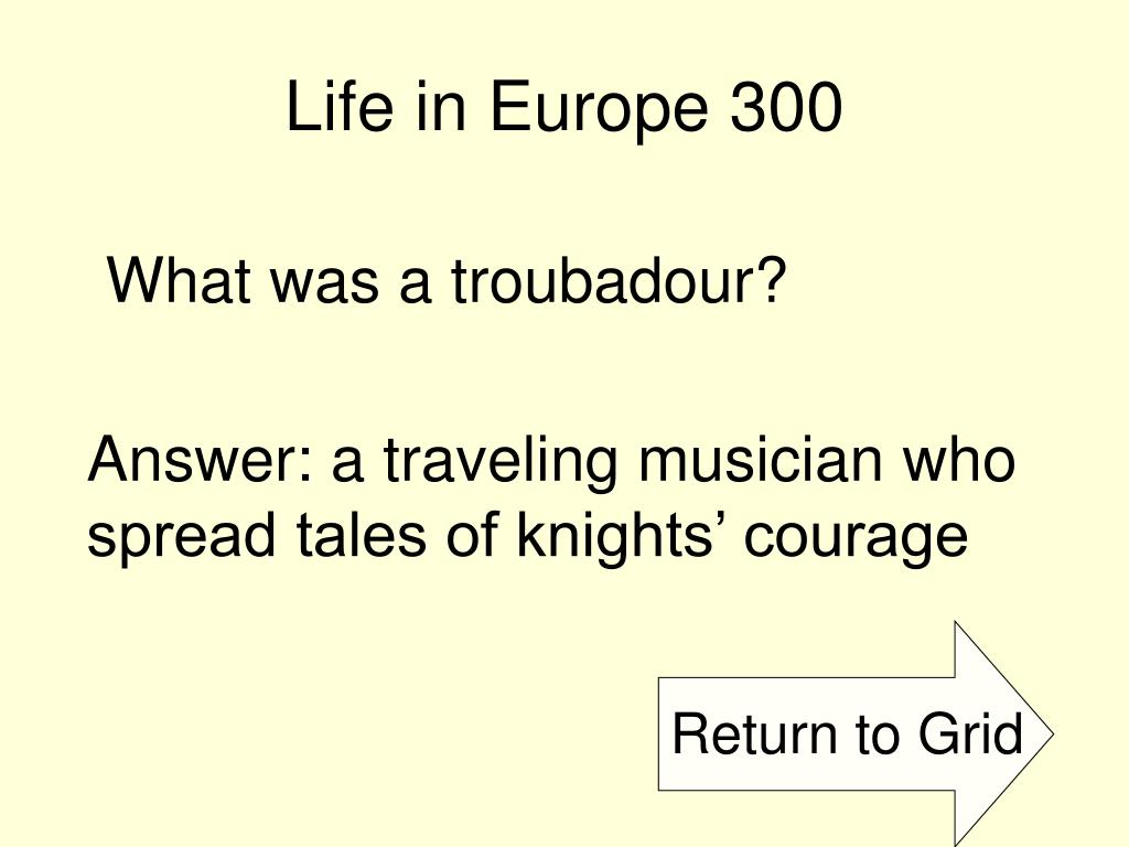 Life in Europe 300