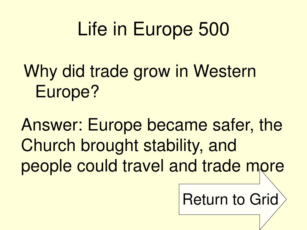 Life in Europe 500