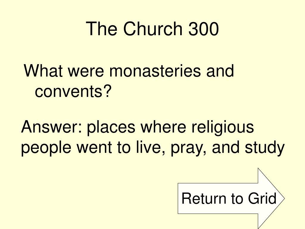 The Church 300