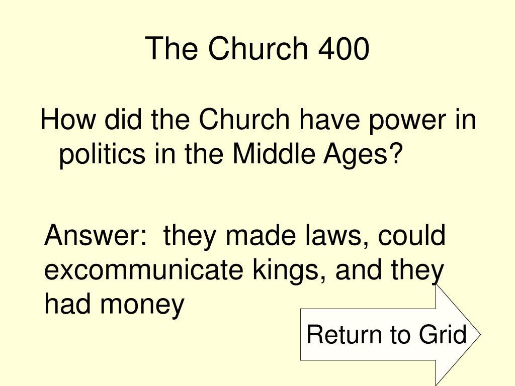 The Church 400