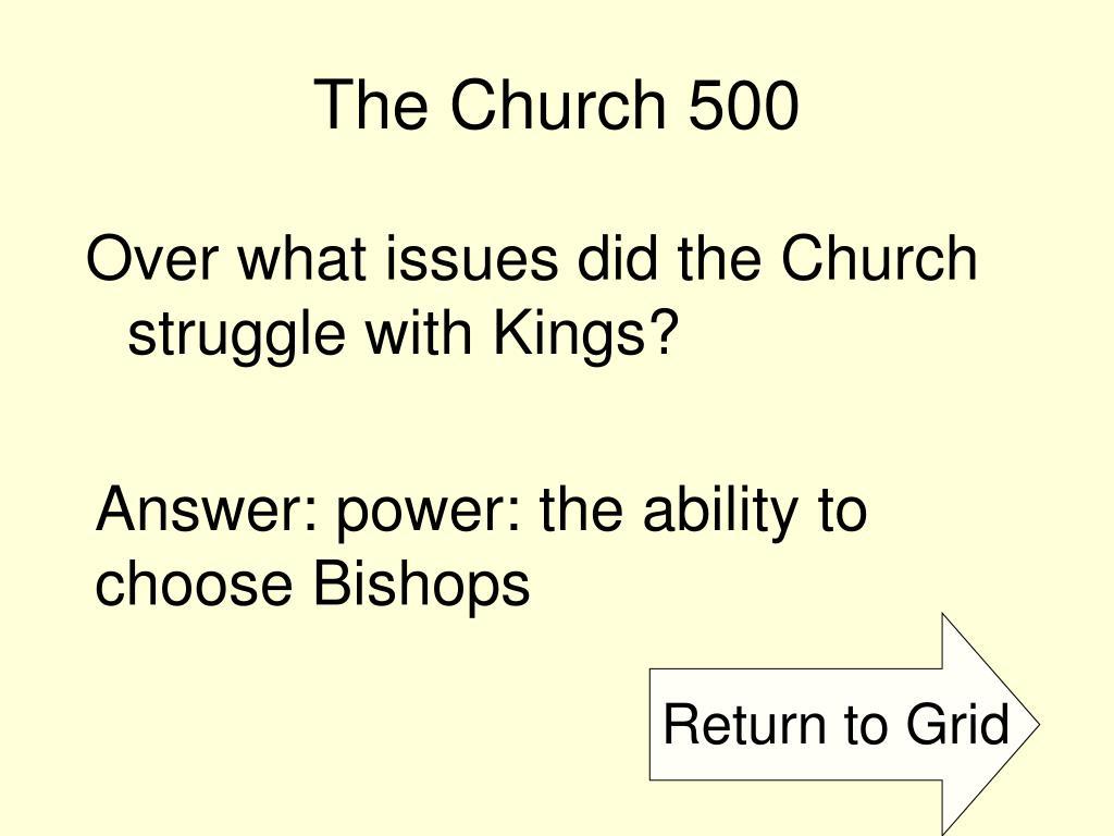 The Church 500