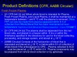 product definitions cfr aabb circular