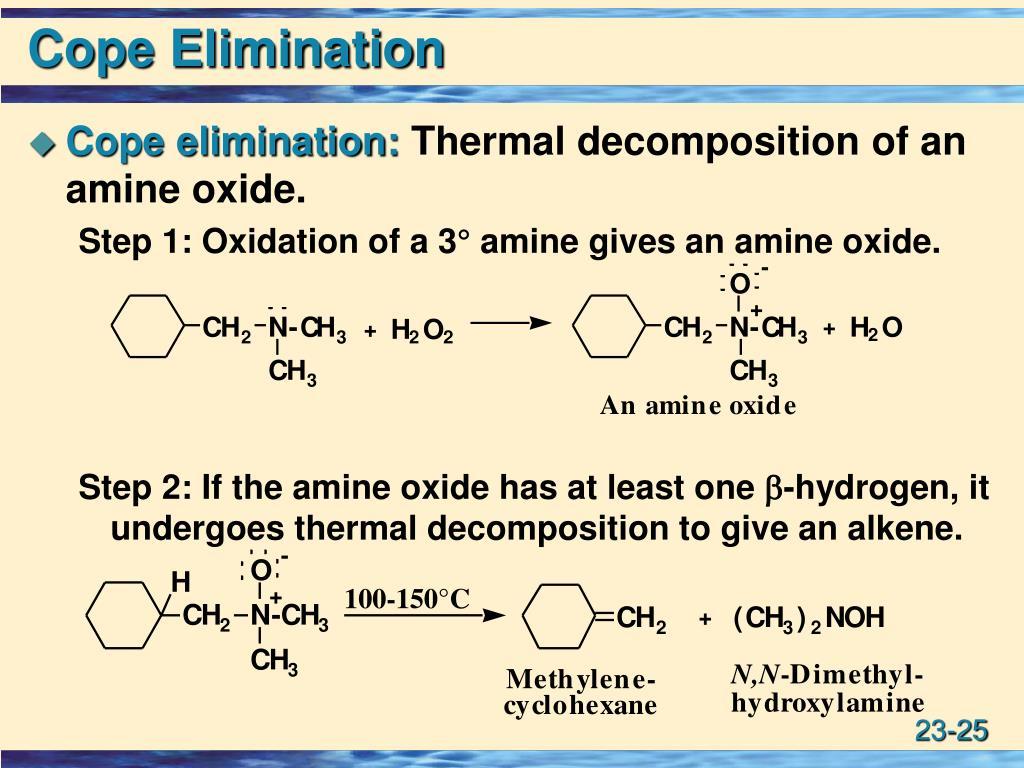 Cope Elimination