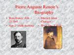 pierre auguste renoir s biography