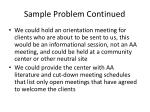 sample problem continued23