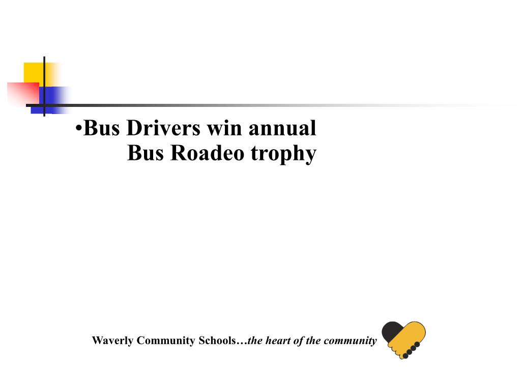 Bus Drivers win annual Bus Roadeo trophy