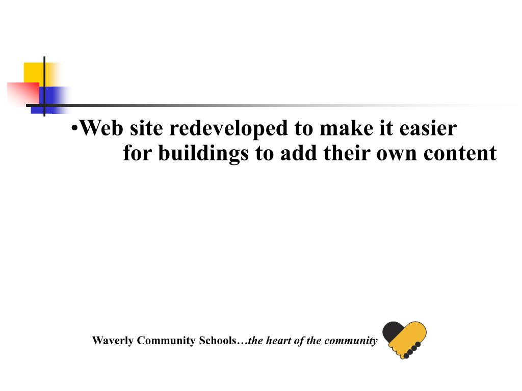 Web site redeveloped to make it easier for buildings to add their own content
