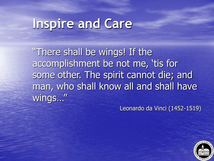 Inspire and Care