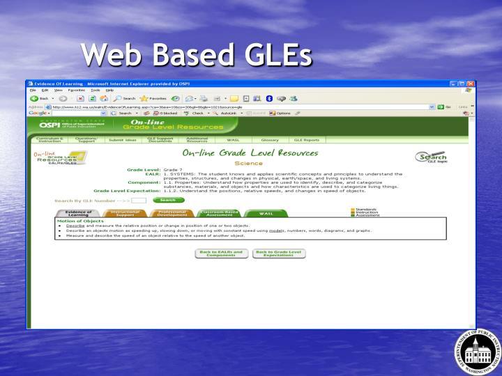 Web Based GLEs