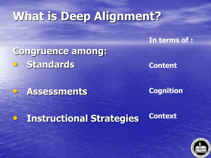 What is Deep Alignment?