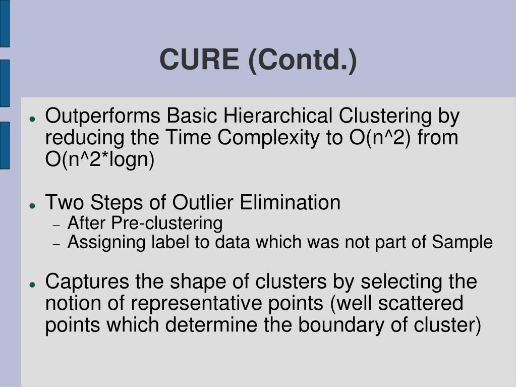 CURE (Contd.)
