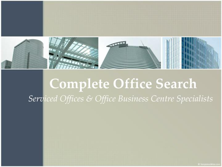 Complete Office Search