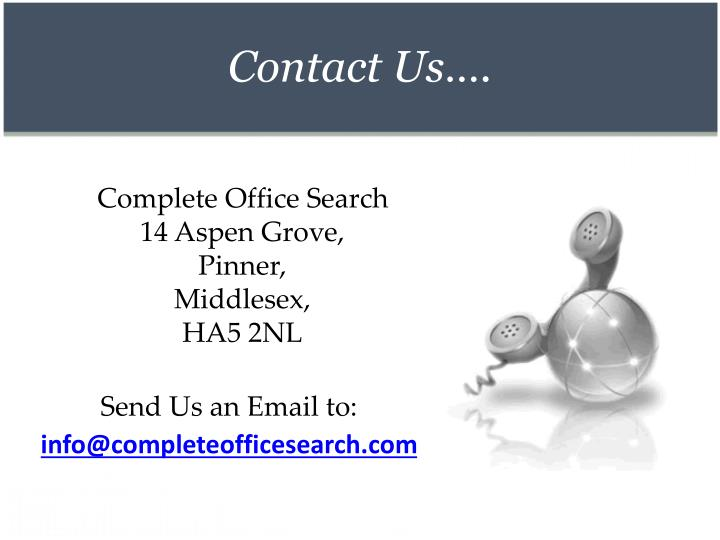Contact Us….