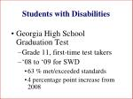 students with disabilities108