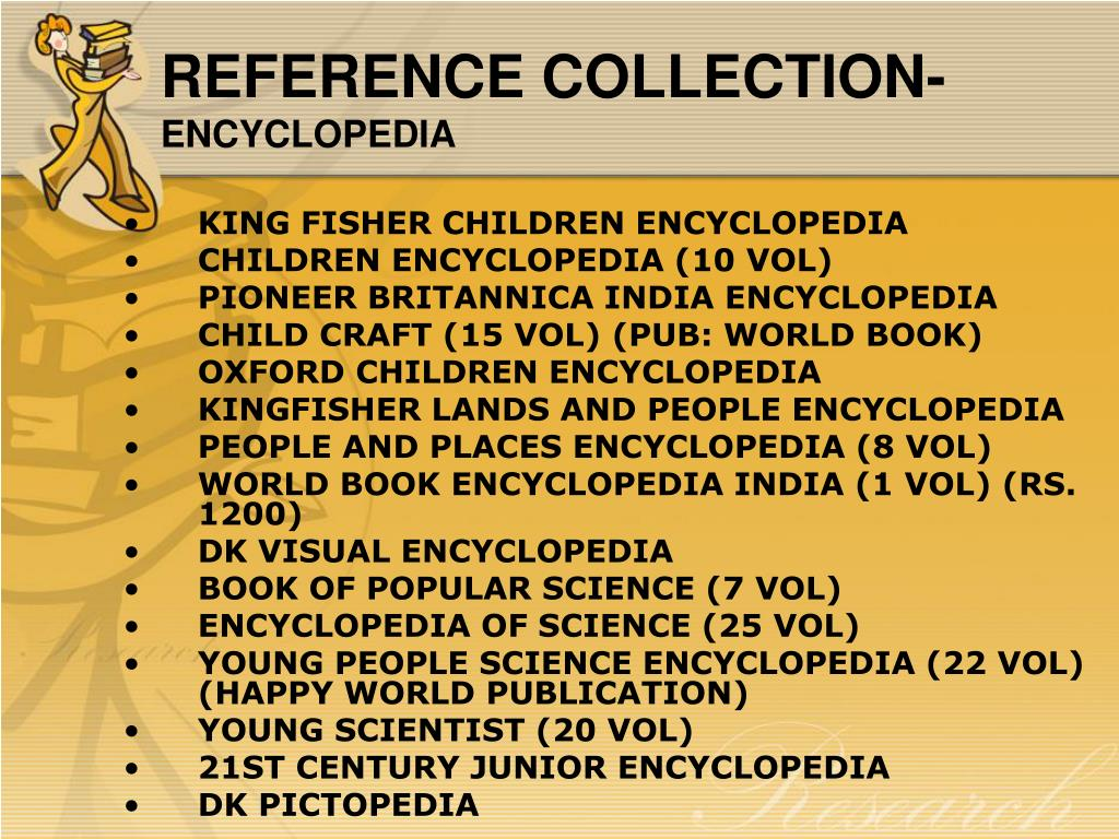 REFERENCE COLLECTION-