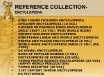 reference collection encyclopedia