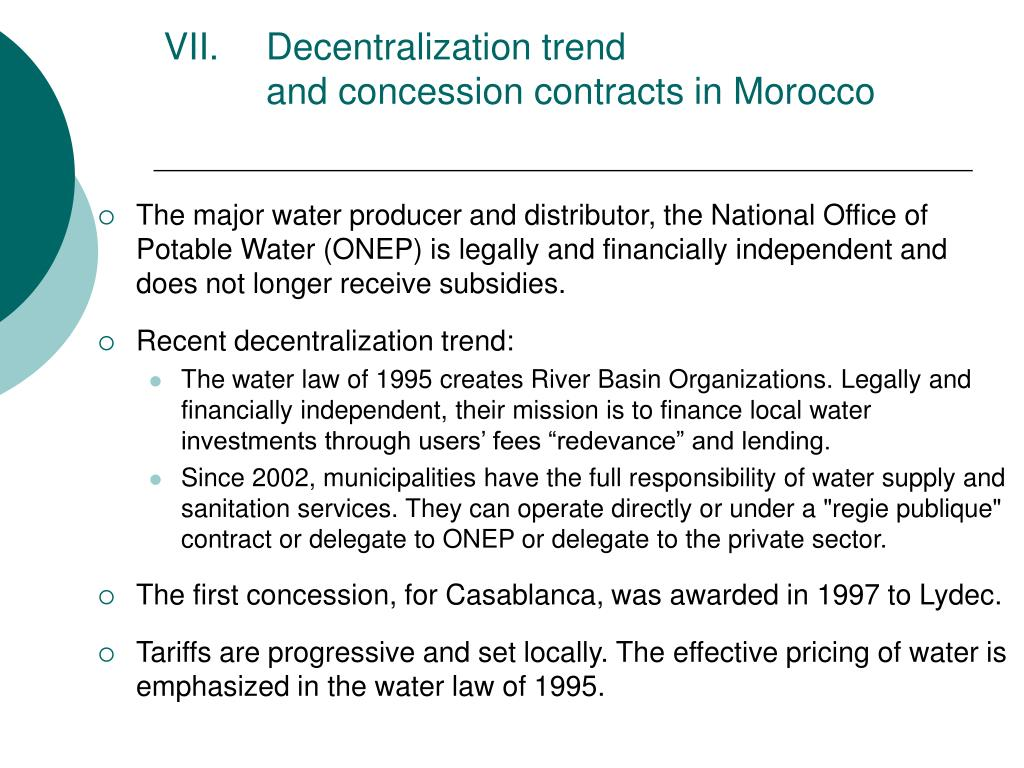 Decentralization trend
