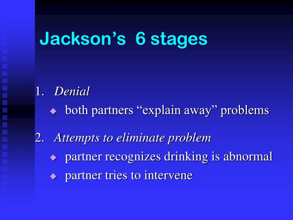 Jackson's  6 stages