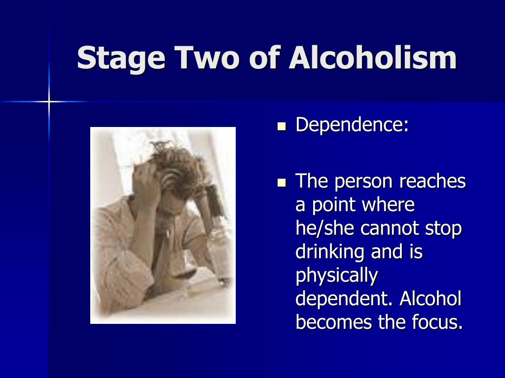 Stage Two of Alcoholism