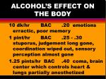 alcohol s effect on the body6