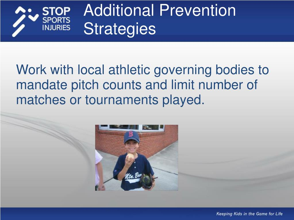 Additional Prevention Strategies