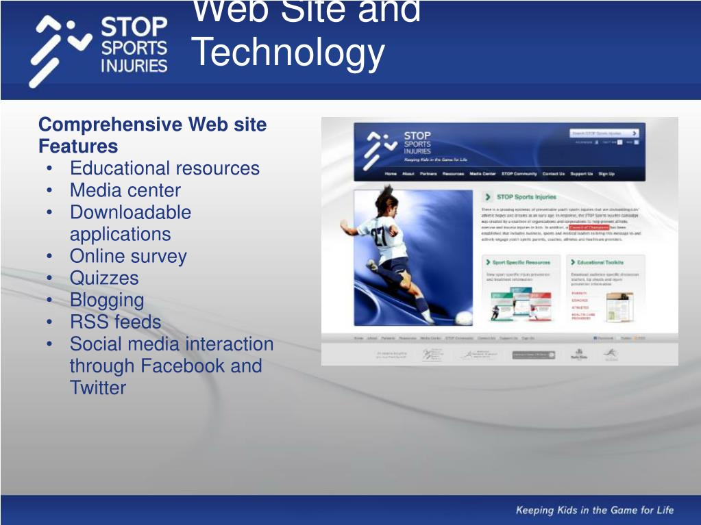 Web Site and Technology