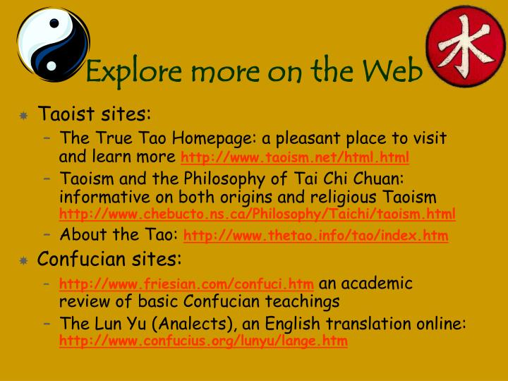 Explore more on the Web