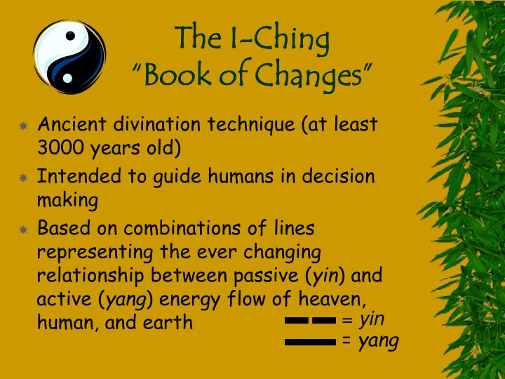 The I-Ching