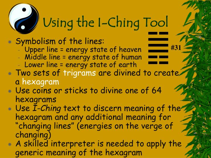 Using the I-Ching Tool