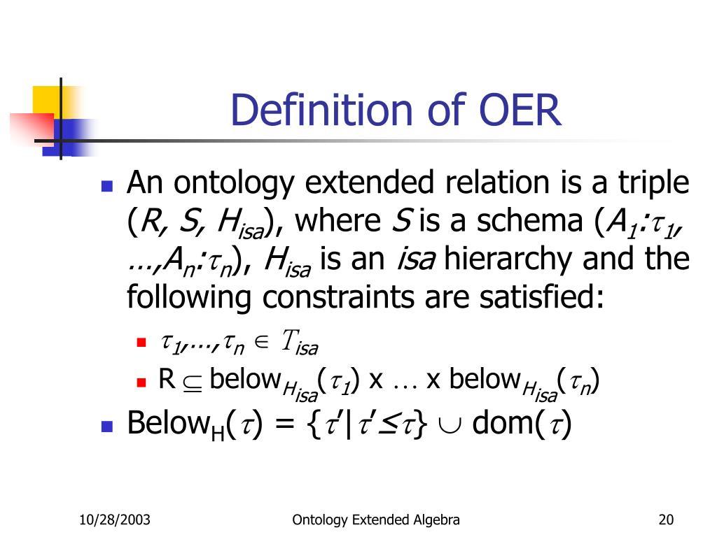 Definition of OER
